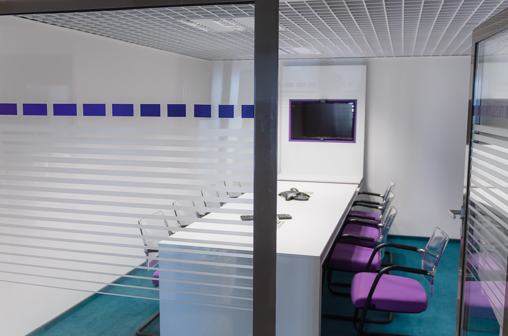 Fortech`s colourful meeting rooms