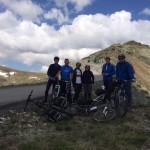 Fortech bikers in Transalpina
