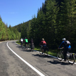 Fortech Cycling in the clouds on Transalpina