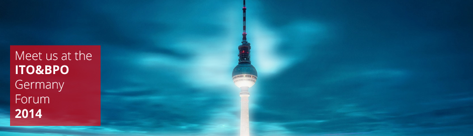 Come to our presentation at ITO&BPO Germany 2014