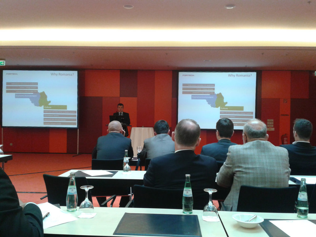At ITO&BPO Berlin 2014 - an event about software outsourcing