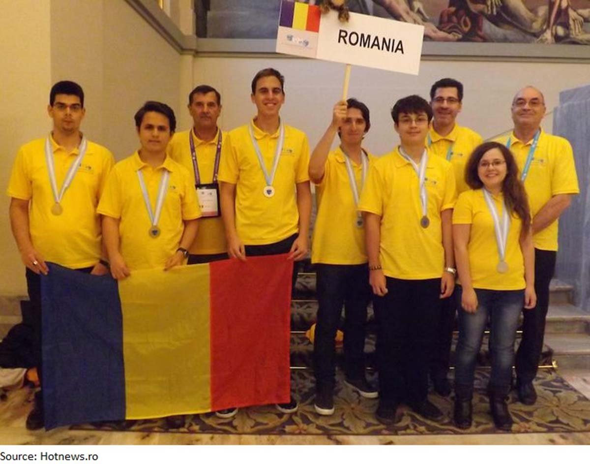 Romanian IT talents: great result at Math Olympiad