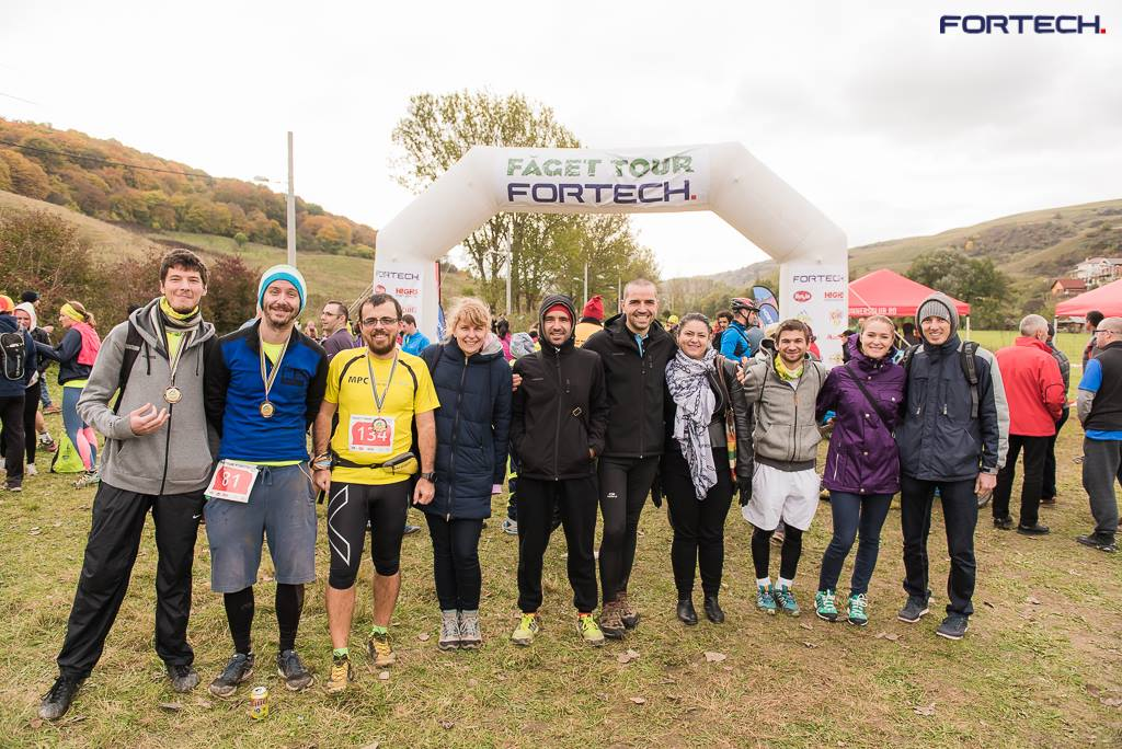 Runners Meet At Faget Tour Fortech