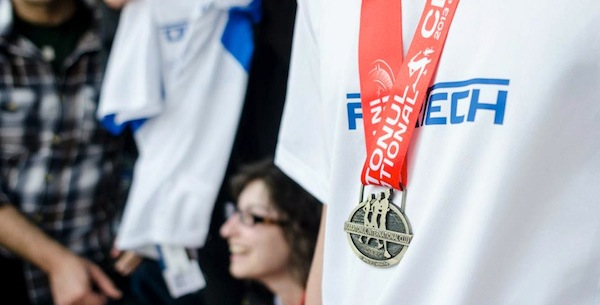 Fortech taking part at Running Competitions