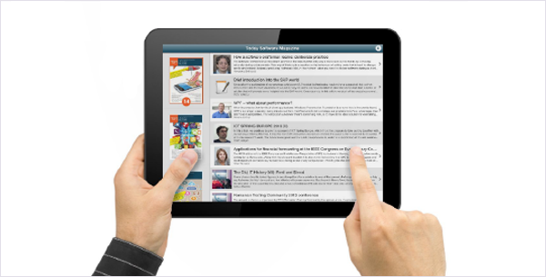 Mobile insights from Today Software Magazine