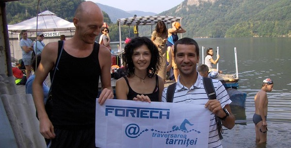 Fortech team taking part at Traversarea Tarnitei