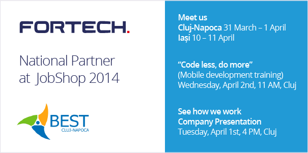 JobShop 2014 - a great event for software developers and testers in Cluj-Napoca and Iasi