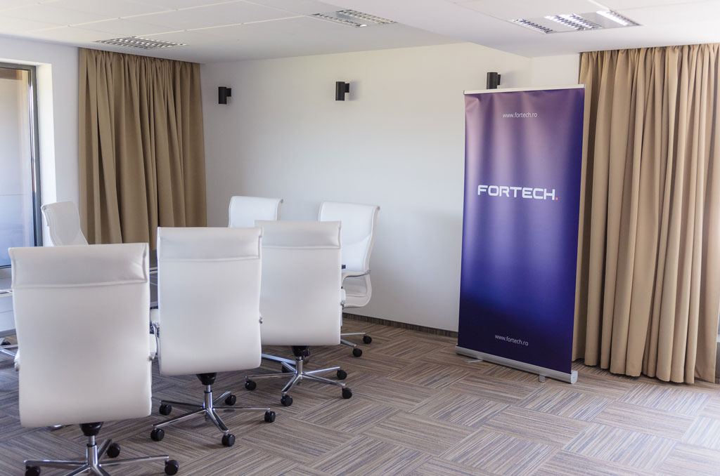 Fortech`s new headquarter - Board Room