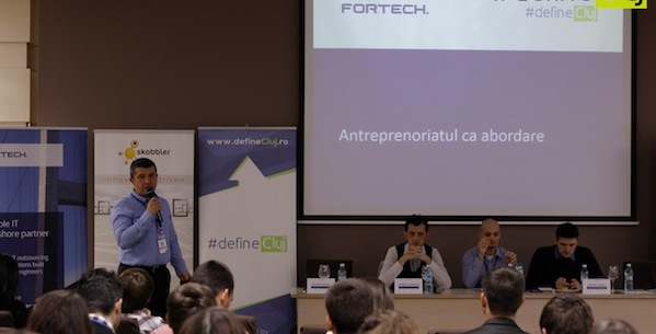 Profile of Calin Vaduva, CEO of Fortech, a Cluj based software outsourcing company