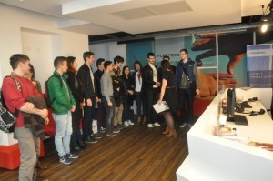 Students Visiting Fortech headquarter