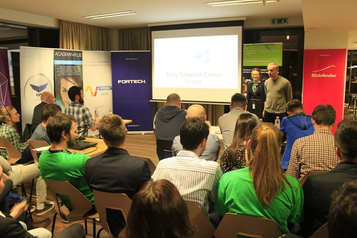 3 Day Startup Cluj 2015 at Fortech. Final pitches