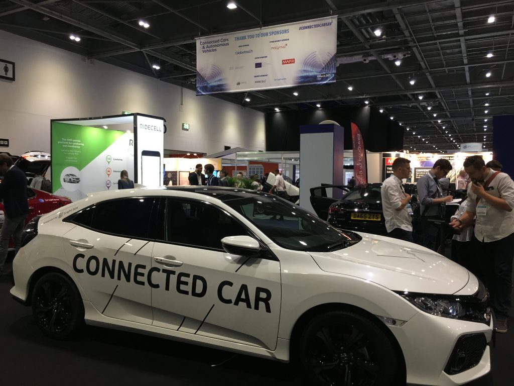 Connected Cars London Fortech Exhibited At TechXLR Fortech - Car show management software