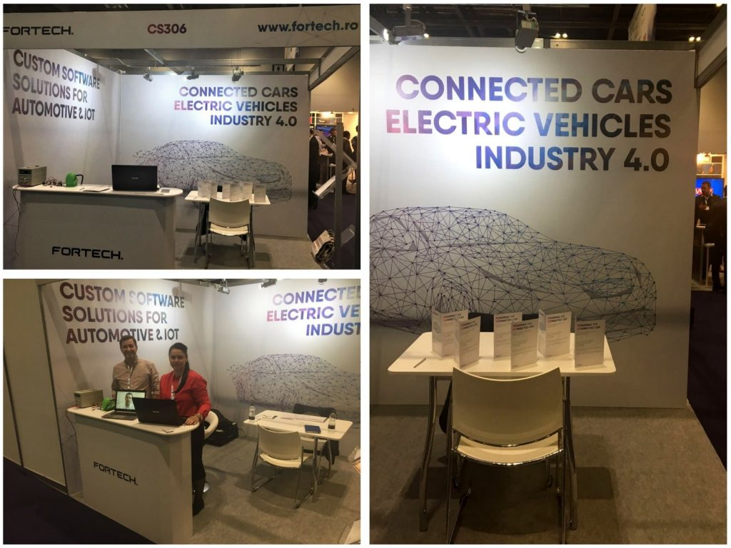 Fortech at Connected Cars London