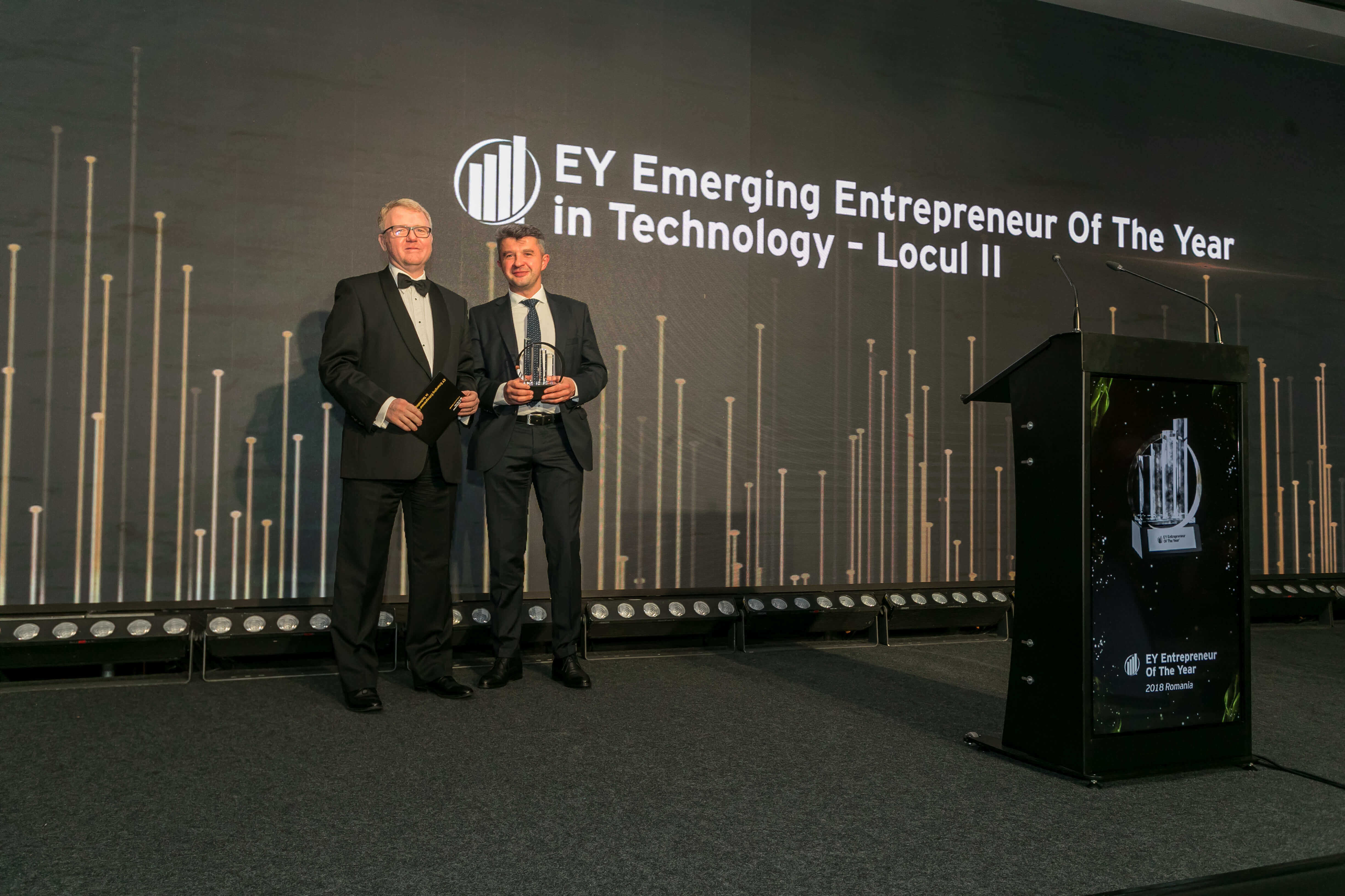 EY Entrepreneur Of The Year - Fortech Ranked 2nd Most Entrepreneurial Romanian Software Company