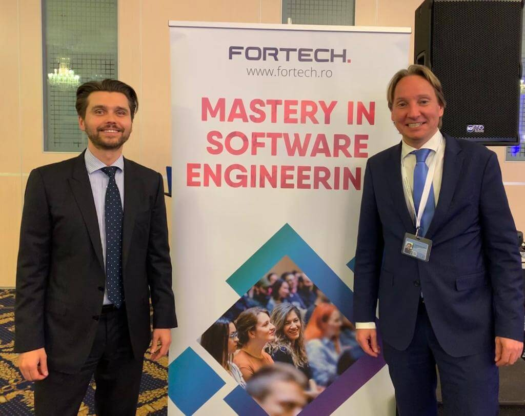 Fortech at Startup Europe Summit 2019