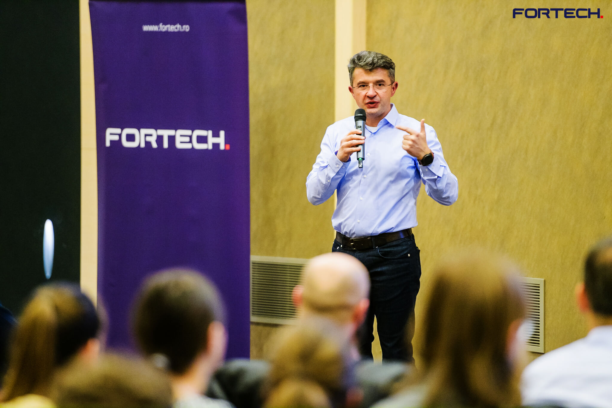 Calin Vaduva, Fortech CEO, Speaker at Techsylvania 2019