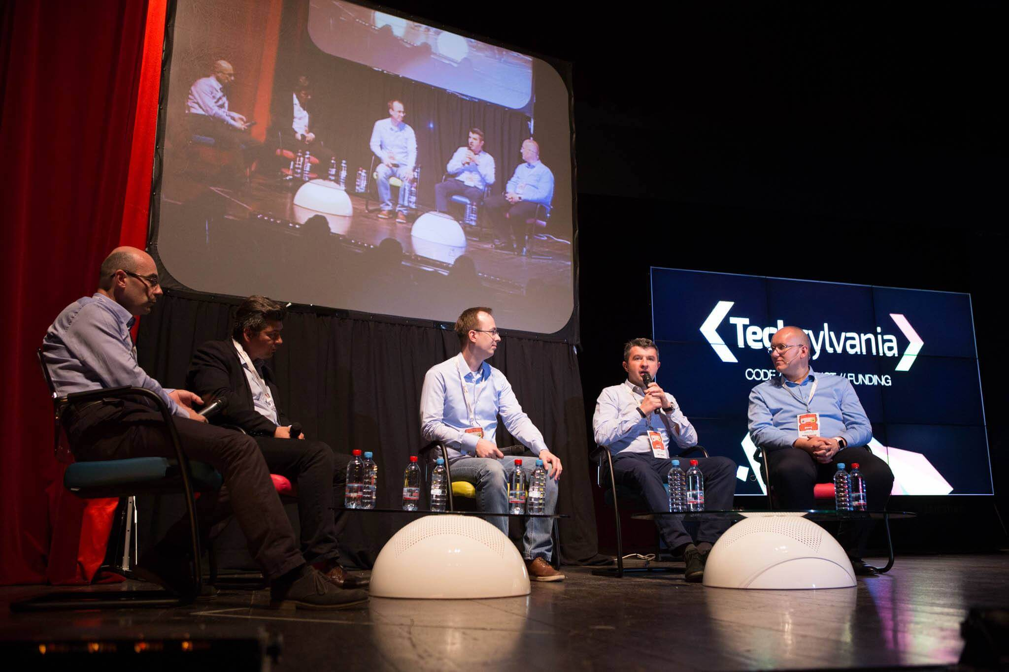 Panel Talk: How Does Technology Transform the Healthcare Industry. Fortech CEO at Techsylvania